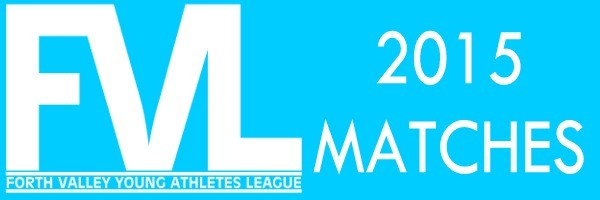 ForthValley league match dates 2015